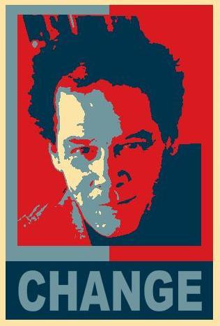 Robert as Obama