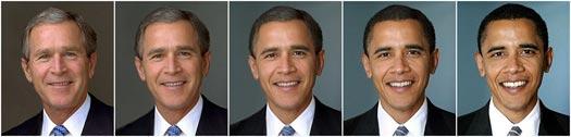 De Bush à Obama